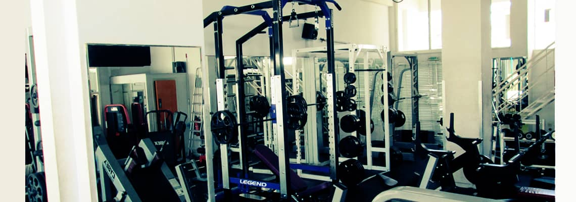Legend Fitness and Cybex power racks